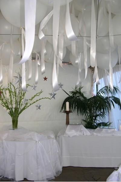 White Wedding Ribbons