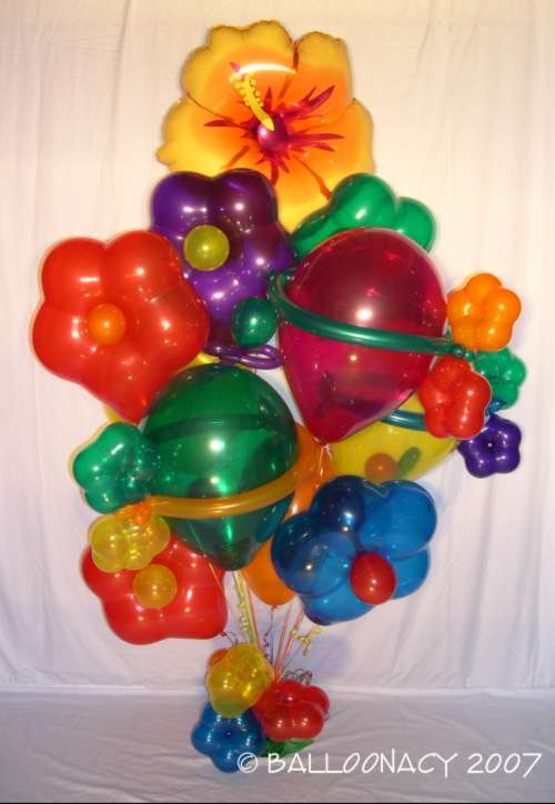 flower balloons